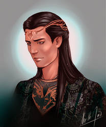 High King of the Noldor by MellorianJ