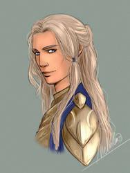 Golden Hair by MellorianJ