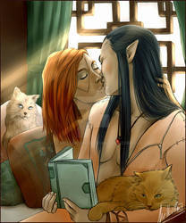 Kiss and Cats