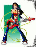 rock n roll wonder woman