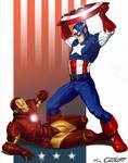 cap vs iron