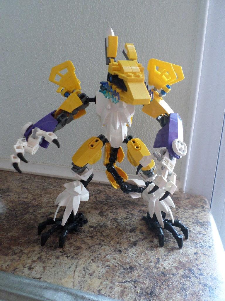 Lego Renamon by NovDecJan