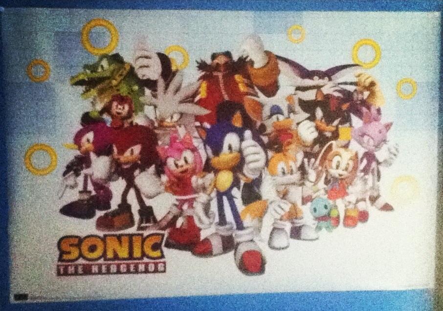 Sonic Poster! by xXVengeanceIsMineXx