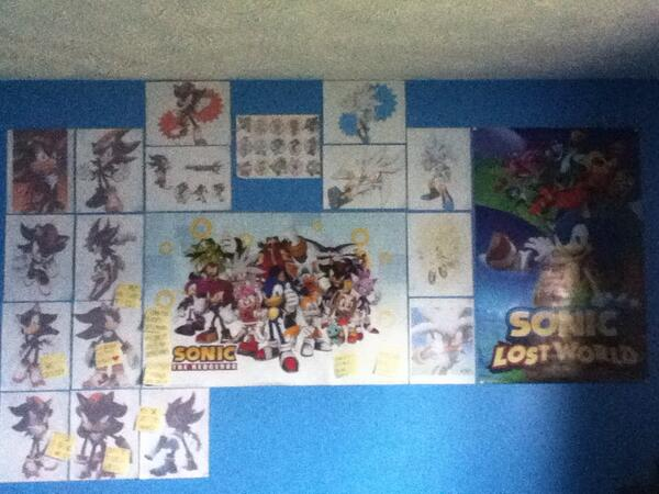 Wall of Sonic Pictures by xXVengeanceIsMineXx