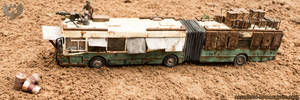 The Road Fortress - Post apocalyptic vehicle by AestheticApocalypse