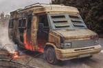 Post apocalyptic camper van