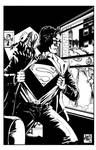 Supes and Chemo scribble pinup