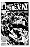 Commission Daredevil mock cover sketch