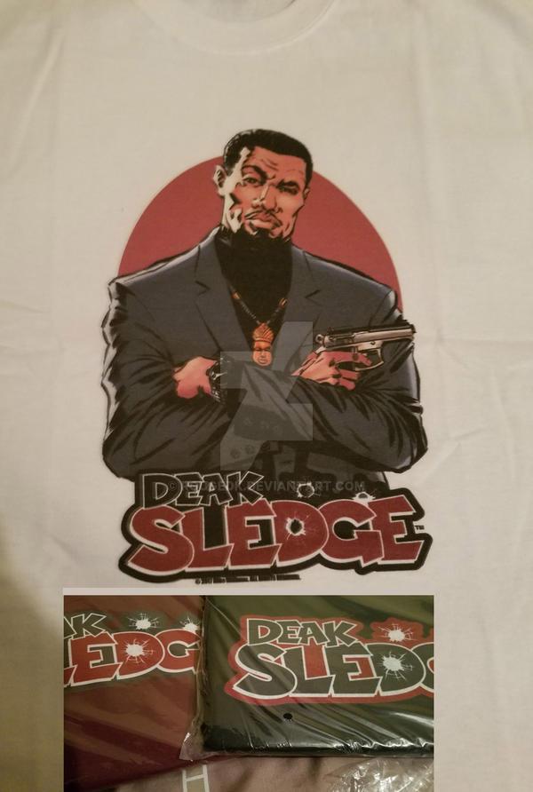 Sledge Tee Samples by RougeDK