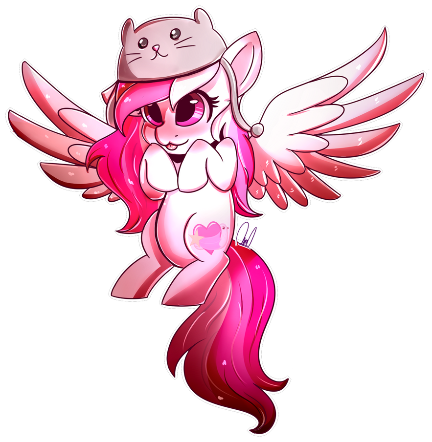 am adorable! notice meh! bleh! [Comission] by PaintColorYT