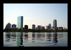 Reflections of Boston by LinaraQ