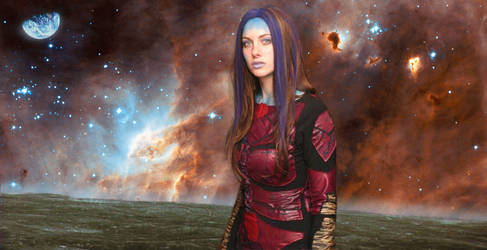 Illyria in Space by LinaraQ