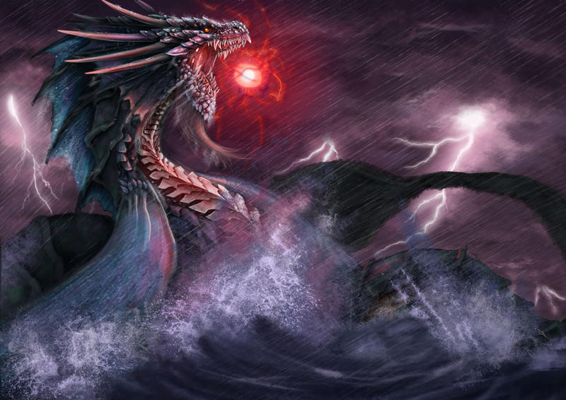 Sea Dragon WIP 2 By Julian2105