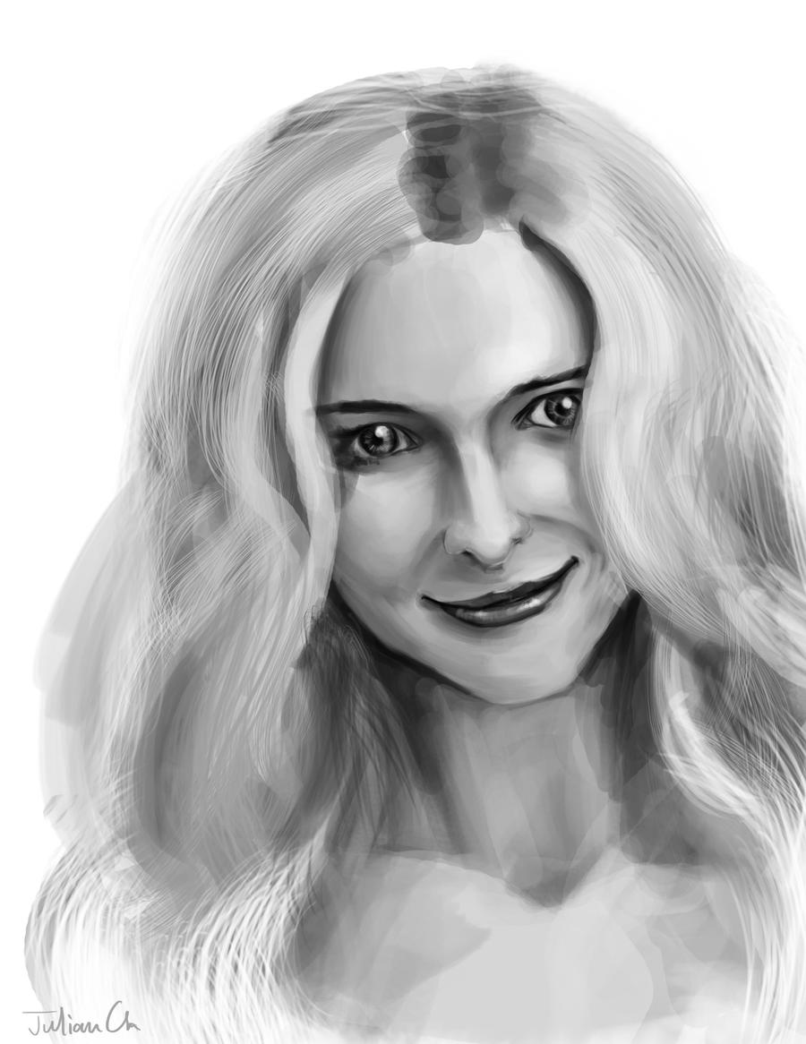 heather graham by julian2105