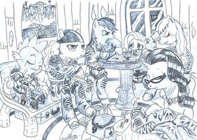 Rescue party by appleman86