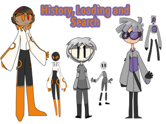 Human! History, Loading and Search by RadooshArts