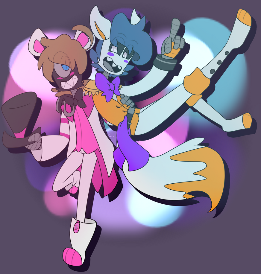 Freddy And Lolbit 01 By CagedMirrow On DeviantArt