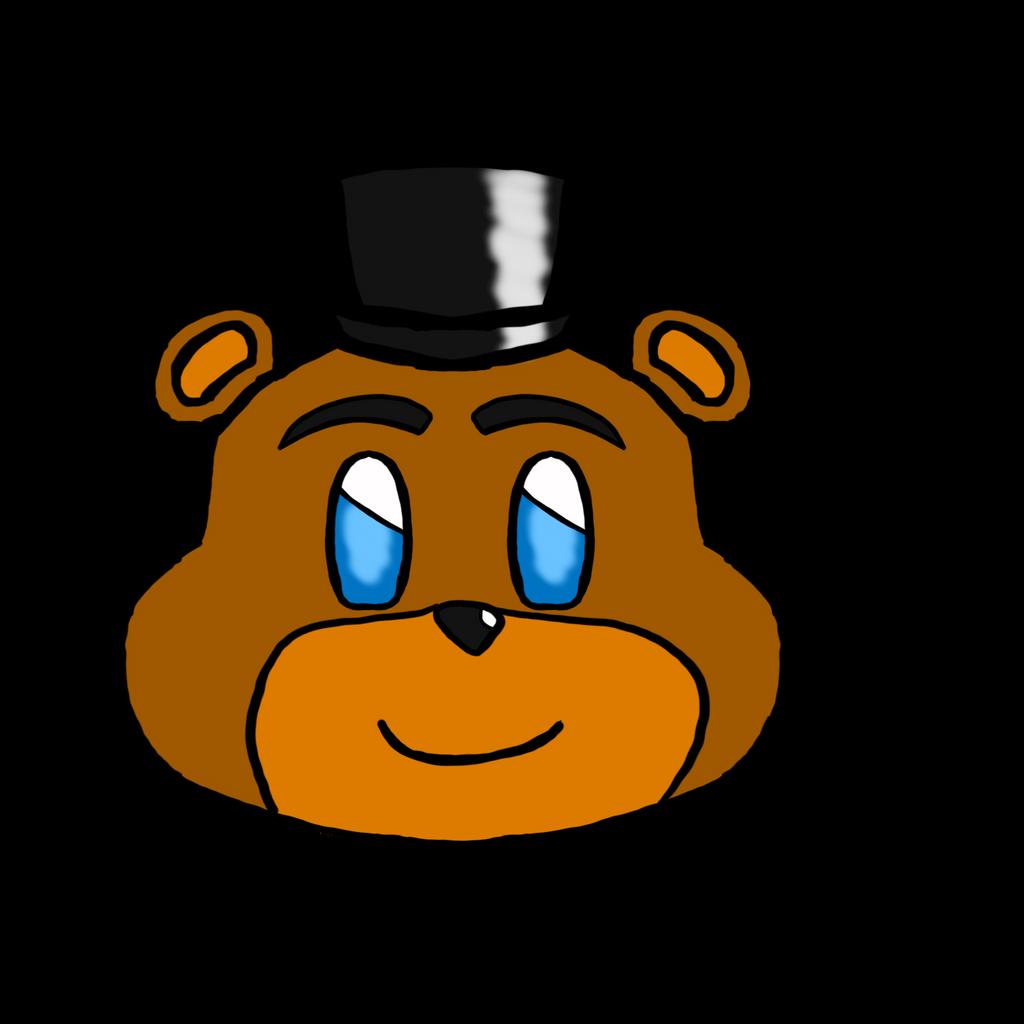 Freddy head kawaii by HuswserStar
