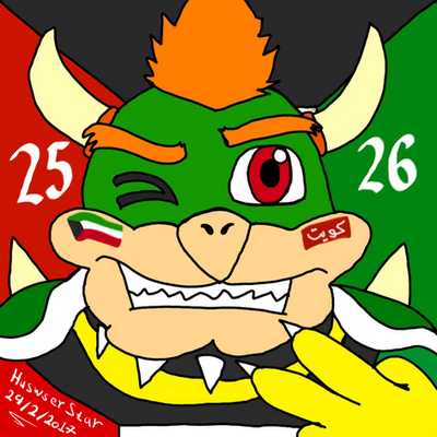 Bowser 25 - 26 liberation day  by HuswserStar