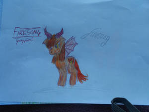 Firesong the pony