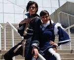 Amazing Tahno and Korra cosplay