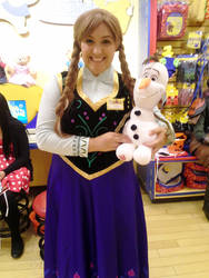 My Anna cosplay