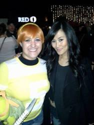 Minae Noji and I