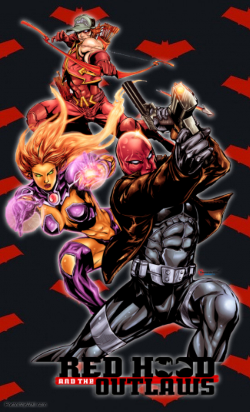 Red Hood And The Outlaws Phone Wallpaper By Smileyxcomics On