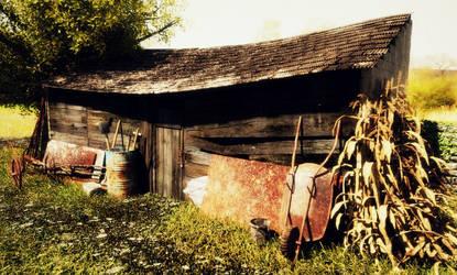 Old farm storage by DeargRuadher