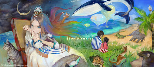 Cover of story book by amatizking
