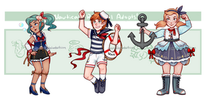 Nautical Radical Adopts! [closed] by C-ren