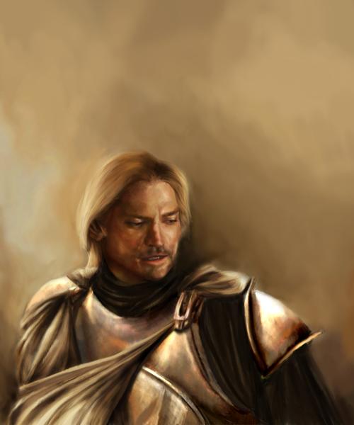 Jaime Lannister... Jaime Lannister Art Hand