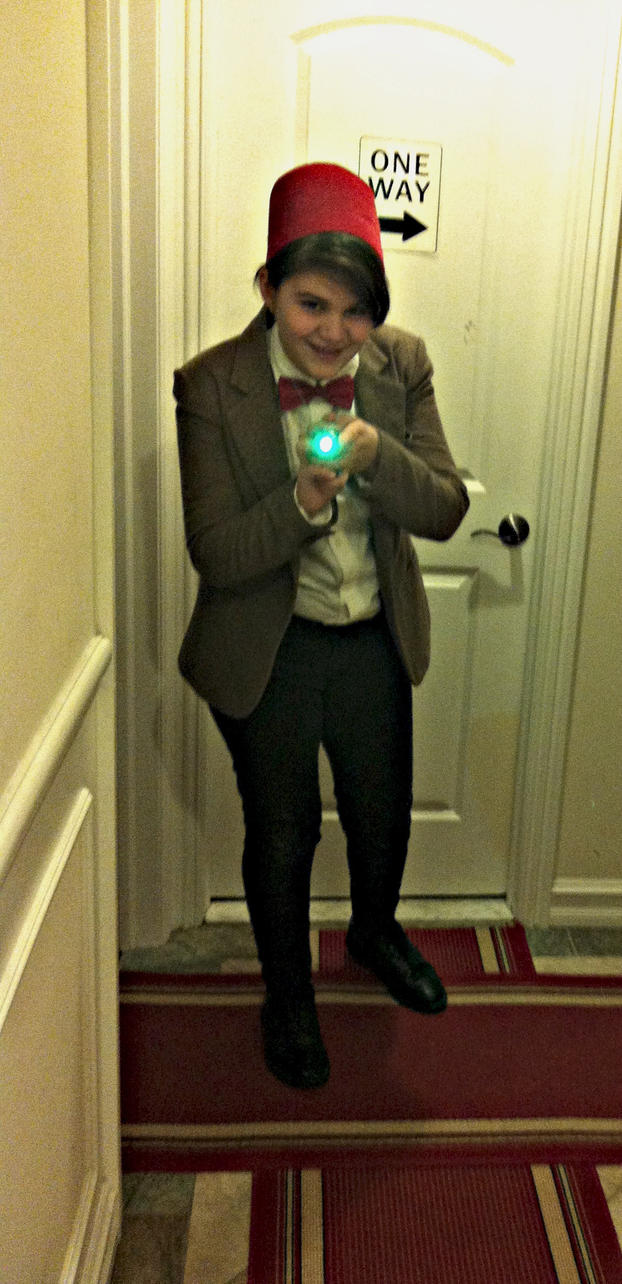 Stay Back! I have a....Sonic Screwdriver.... by MadamWonderland