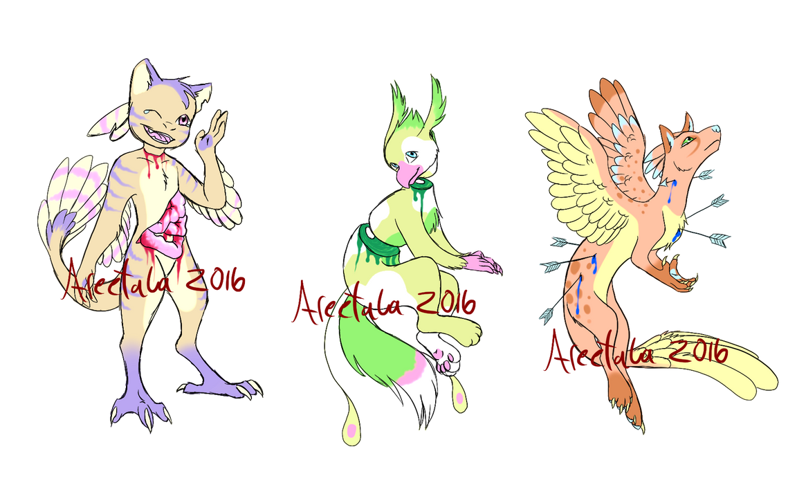 pastel gore adopts by - photo #2