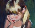 Pensive Little Miss