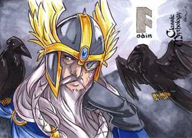 Classic Myth: Odin by CapnFlynn