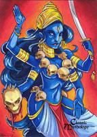 Classic Myth: Kali by CapnFlynn