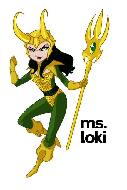 Ms Loki by CapnFlynn