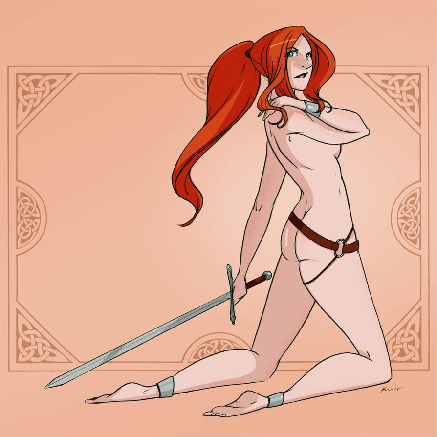 Sword Girl Ginger by CapnFlynn