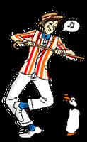 Penguin Dance by Saruseptember