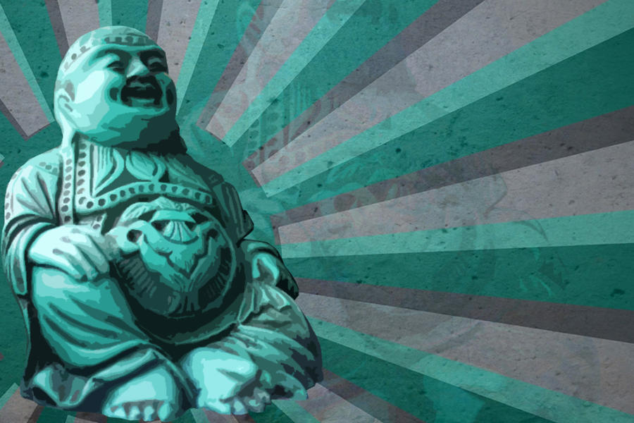 Buddha Wallpaper by dereklatondre on DeviantArt
