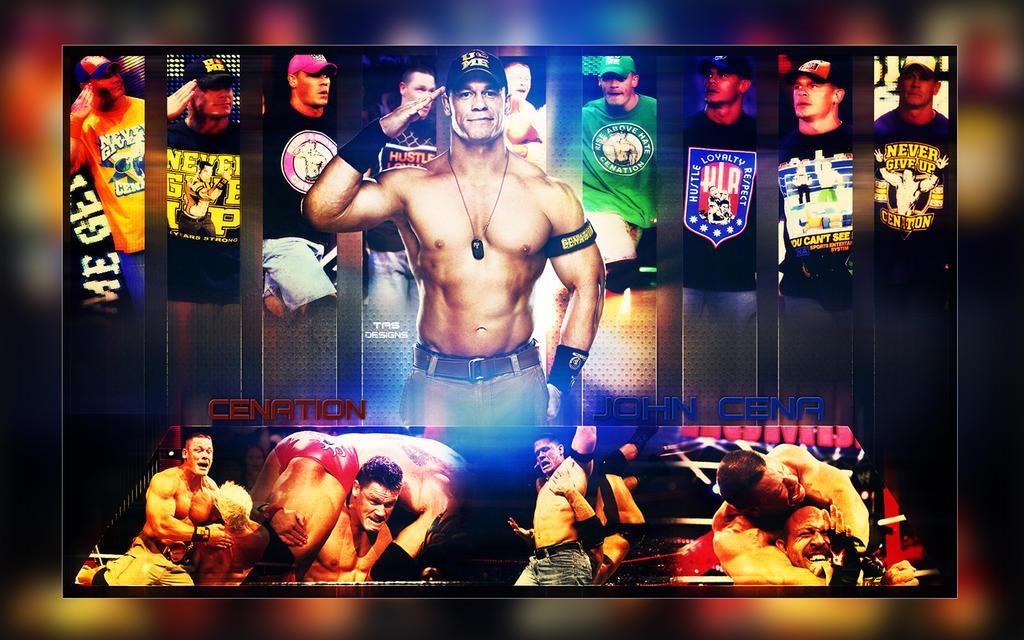 John Cena Wallpaper V2 By TanzimAhmedS