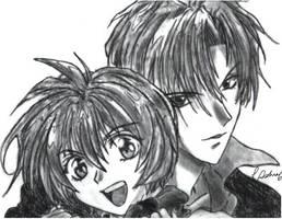 Shuichi and Yuki by Moonglare833