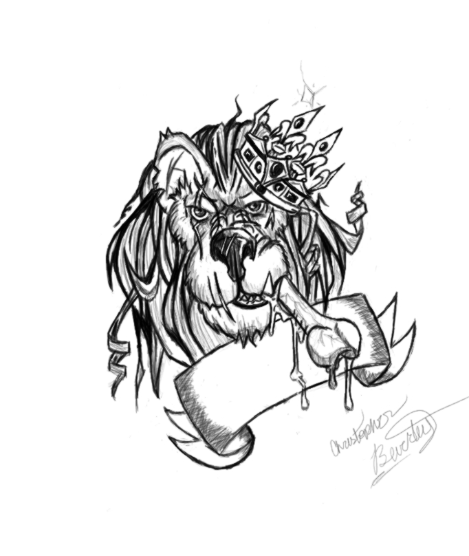 Lion tribal drawing tumblr