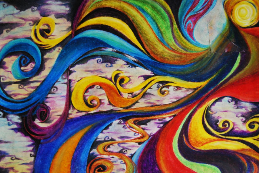Oil Pastels - Creation by Cat-s-Art on DeviantArt