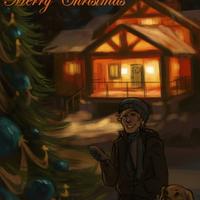 CA - Christmas Lights by Cat-s-Art