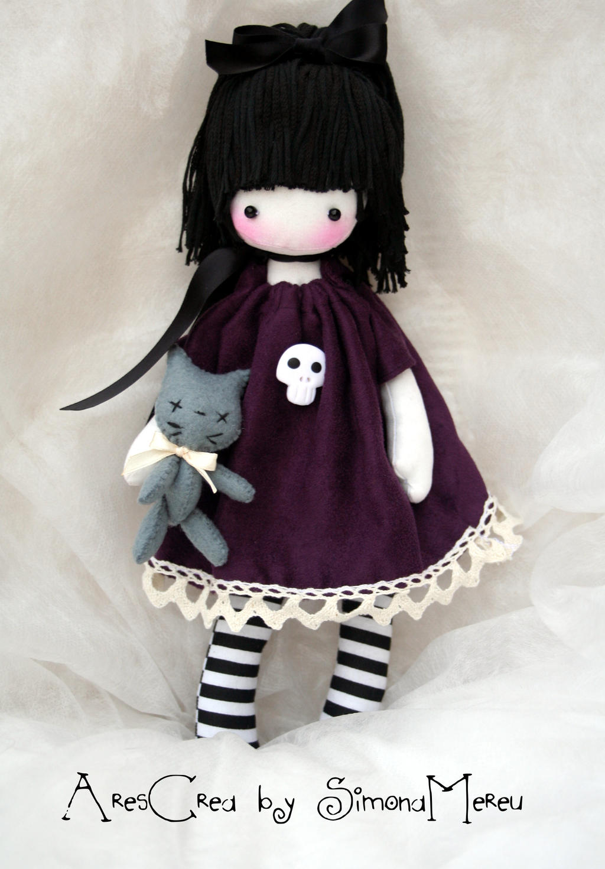 Handmade Gothic Harajuku Fashion W H Naoto Spiderweb Bag: 1000+ Images About Rag Dolls, Button Eyes On Pinterest