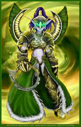 WoW Night Elf Warden by faerymagic