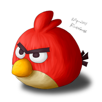 Angry Bird by RiverKpocc