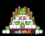 Gagu Birthday cake